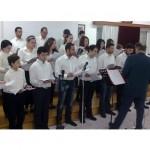 Οι μαθητές του Ωδείου αποδίδουν ύμνους του Μ. Χατζημάρκου